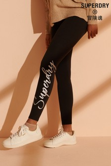 Superdry Scripted Graphic Leggings