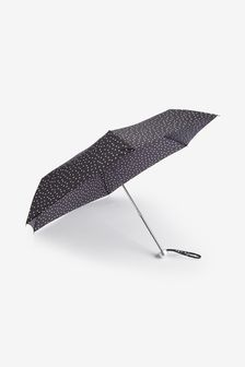 Black/White Moncochrome Polka Dot Umbrella