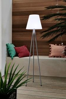 Solar Tripod Floor Lamp