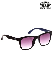 Animal Black/Blue Illuminate Square Frame Sunglasses