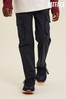 FatFace Blue Hutton Cargo Trousers