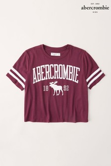 Abercrombie & Fitch Purple Sporty T-Shirt