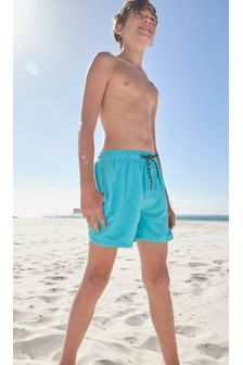 Turquoise Swim Shorts (1.5-16yrs)