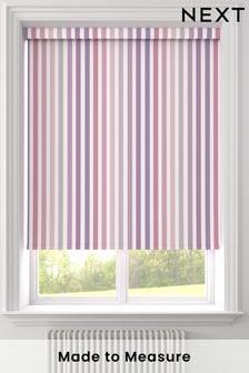 Stripe Pink Made To Measure Roller Blind