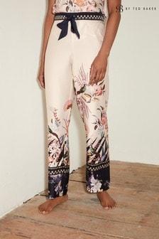 Decadence Cream B by Ted Baker Satin Pyjama Trousers