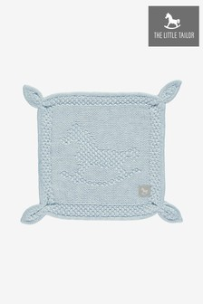 The Little Tailor Soft Blue Blankie Comforter