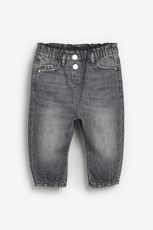 Charcoal Pull-On Jeans (3mths-7yrs)