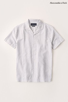 Abercrombie & Fitch Blue Stripe Shirt