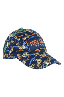 Boys Cotton Tiger Cap