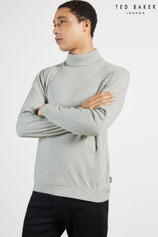 Ted Baker Natural Humour Jersey Rollneck Top