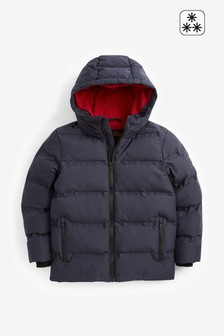 Navy Padded Jacket (3-16yrs)