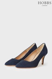 Hobbs Blue Elouise Court Shoes
