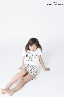 The Marc Jacobs White Snoopy T-Shirt