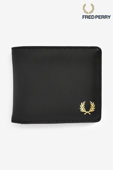 Fred Perry Pique Texture Billfold Wallet