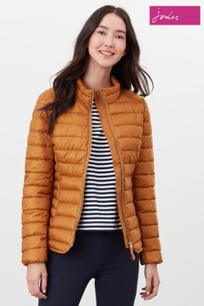 Joules Yellow Canterbury Luxe Padded Jacket