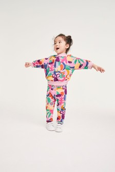 Multi Bright Sweat Top And Joggers Set (3mths-7yrs)