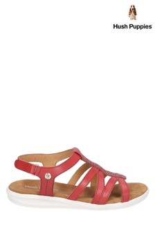 Hush Puppies Red Callie Slingback Sandals