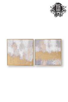 Set of 2 Laguna Mist Canvases by Art For The Home