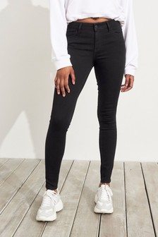Hollister Black Super Skinny Jeans