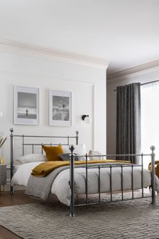 Pewter Leamington Bed