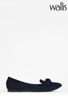Wallis Navy Barcelona Twist Shoes