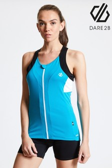 Dare 2b Blue Regale Full Zip Cycling Vest