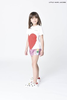 The Marc Jacobs White Heart T-Shirt