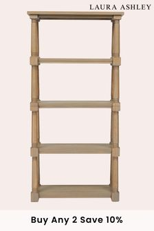 Wellington Oak Single Bookcase by Laura Ashley