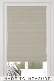 Jasper Dove Grey Made To Measure Roman Blind