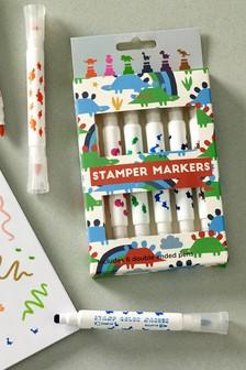 Set of 6 Stamper Pens