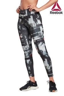 Reebok Curve Workout Ready Printed Leggings