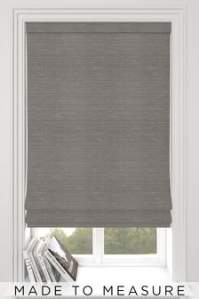 Jasper Fog Grey Made To Measure Roman Blind