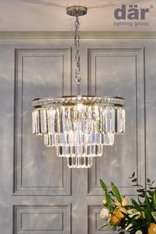 Där Lighting Brass Vyana 4 Light Pendant