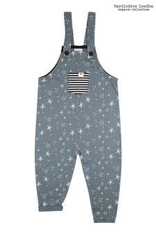 Turtledove London Super Star Easy Fit Steel Dungarees