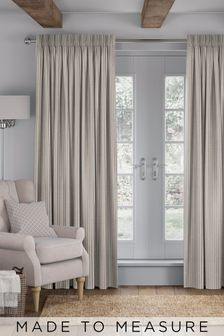 Nestor Wicker Natural Made To Measure Curtains
