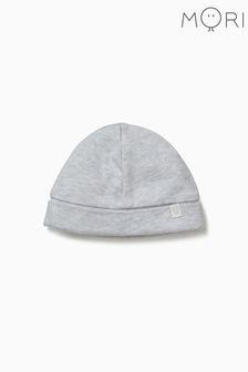 MORI Grey Baby Hat