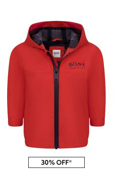 BOSS Baby Boys Red Jacket