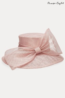 Phase Eight Pink Timone Bow Hat
