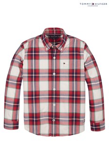 Tommy Hilfiger Red Check Shirt