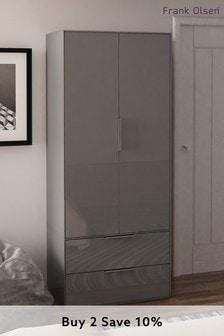 Grey  Frank Olsen Smart Gloss Wardrobe