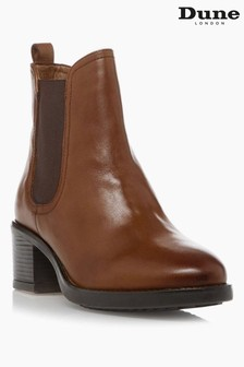Dune London Parker Mid Block Heel Ankle Boots