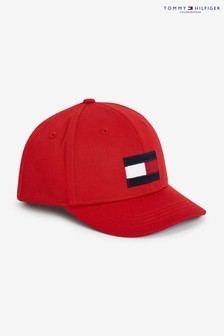 Tommy Hilfiger Red Big Flag Cap