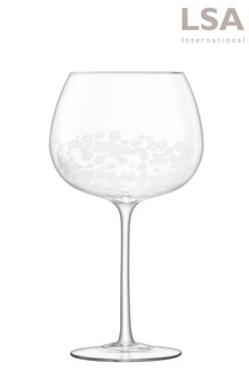 Set of 2 LSA International Stipple Gin Glasses