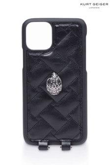Kurt Geiger London Black iPhone 11 Case