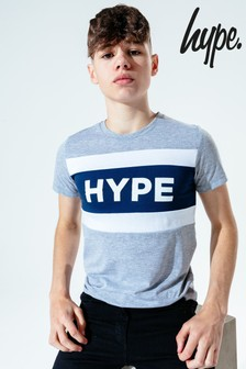 Hype. Kids Blue JH Tape T-Shirt