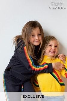 Madeleine Thompson x Label Rainbow Stripe Hoodie
