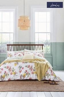 Joules Kelmarsh Floral Duvet Cover and Pillowcase Set