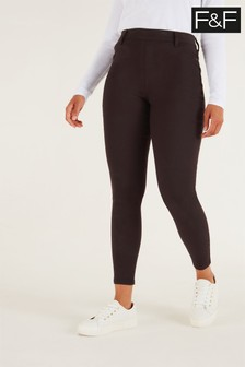 F&F Chocolate Jeggings