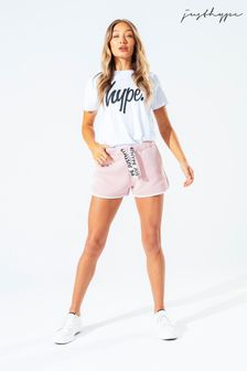 Hype. Womens Pink Running Shorts