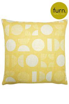 Malmo Art Deco Geo Cushion by Furn